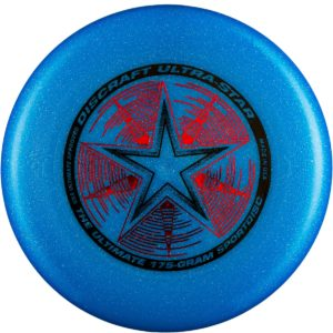Фрисби Discraft Ultra-Star Blue Sparkle