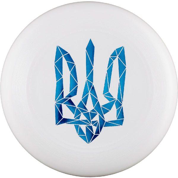 Фрисби Discraft Ultra-Star Герб Украины синий