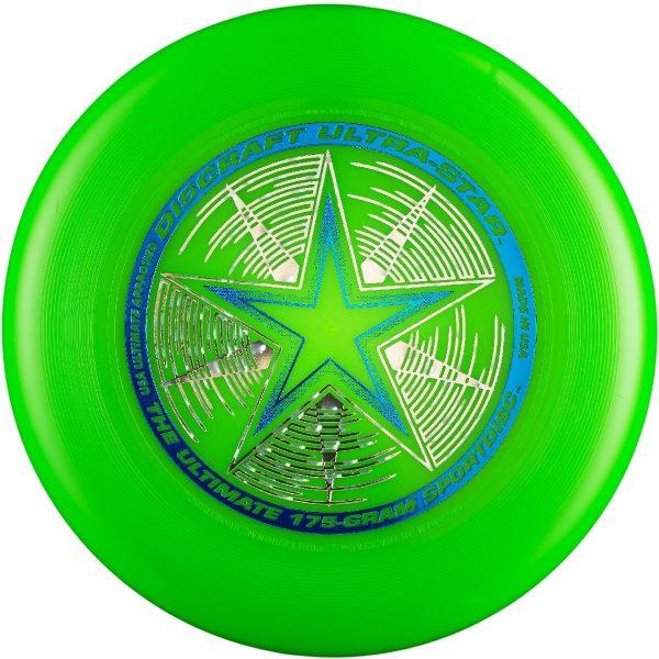 Фрисби Discraft Ultra-Star зеленый
