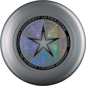 Фрисби Discraft Ultra-Star серебрянный